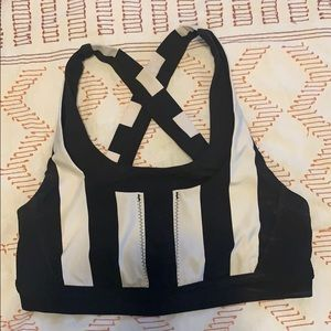 ✨ Lululemon Run: Stuff Your Bra II Stripe Black